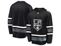 Men's Los Angeles Kings Blank Adidas Black Authentic 2019 All-Star NHL Jersey
